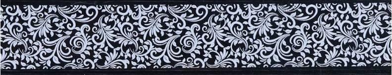 Фольга переводная для литья и дизайна кружево 100 см