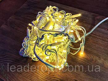 """[ОПТ] Вулична новорічна світлодіодна гірлянда є icicle """"Бахрома"""" з мерехтінням 120LED, 3 метри."""