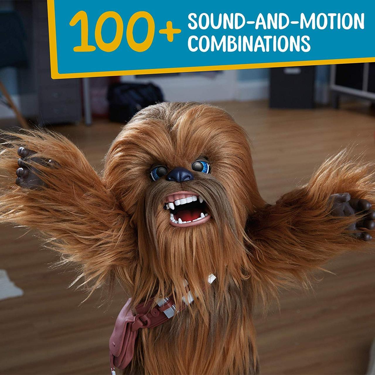 Звёздные войны, Интерактивный фурбака, Чубакка 42см 100+ звук, Star Wars Co-pilot Chewie