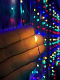 Гирлянда светодиодная Штора Роса 3м\2.5м белый холодный, фото 5