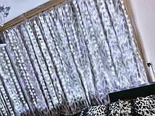Світлодіодна гірлянда Штора Роса 3м\2.5 м холодний білий