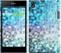 """Чехол на Sony Xperia Z1 C6902 Переливающаяся чешуя """"227c-38"""""""
