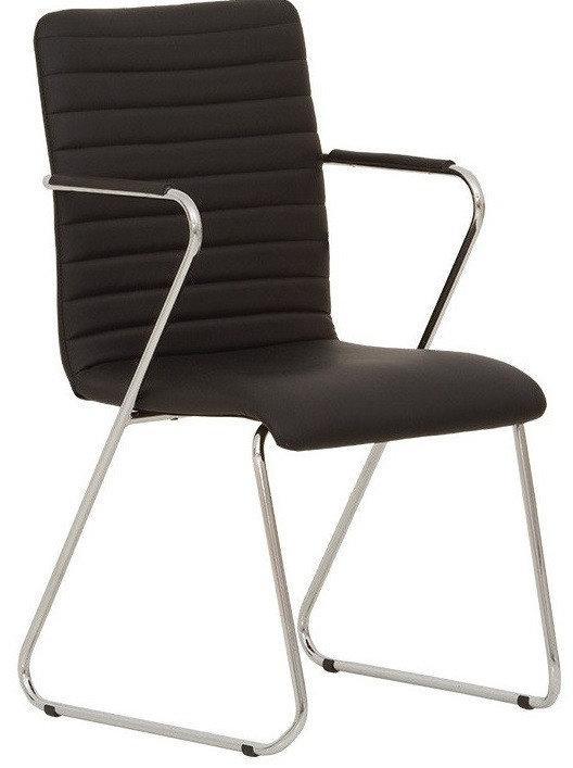 Кресло для посетителей TASK arm chrome (BOX 2)