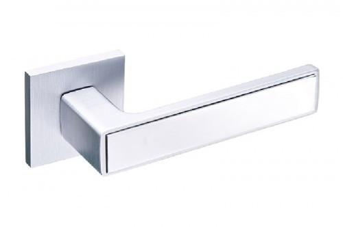 Ручка дверная Gavroche Nikel NI-Z25 матовый хром/хром