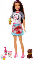 Кукла Барби Скиппер со щенком Barbie Skipper Sisters Icecream Cooking Play Set Mattel (FHP62)