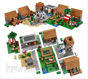 "Конструктор Bela 10531 ""Деревня"" (аналог Lego Майнкрафт, Minecraft 21128), 1622 деталей, фото 2"