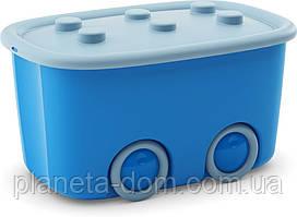 Ящик для игрушек Funny Box голубой