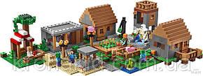 "Конструктор Bela 10531 ""Деревня"" (аналог Lego Майнкрафт, Minecraft 21128), 1622 деталей, фото 3"
