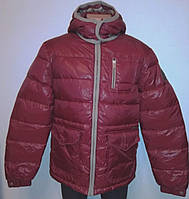 Куртка-Пуховик чоловіча бордова S «Zuelements» (Італія)