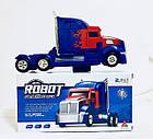 Машинка Трансформер BERSERKER WARRIOR ROBOT №JS008A | Робот трансформер грузовик СИНЕ-КРАСНЫЙ, фото 6