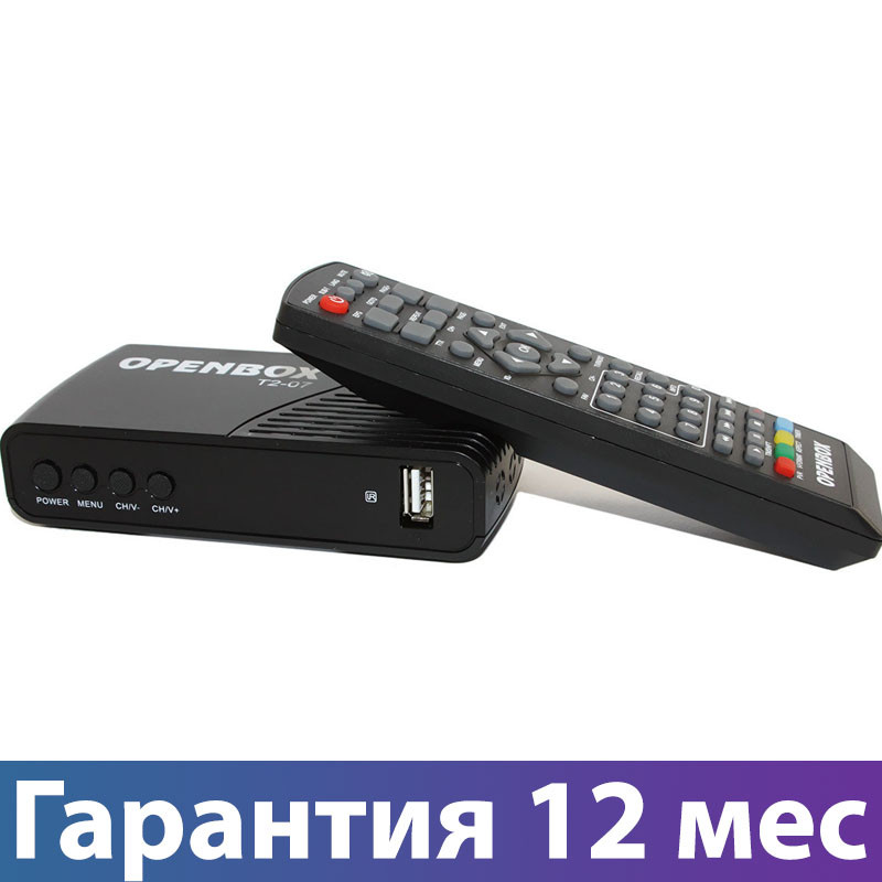 ТВ-тюнер Openbox T2-07 DVB-T2, тв приставка, ресивер, цифровое телевидение