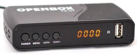 ТВ-тюнер Openbox T2-07 DVB-T2, тв приставка, ресивер, цифровое телевидение, фото 3