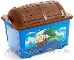 Ящик для игрушек Toy Box Style голубой