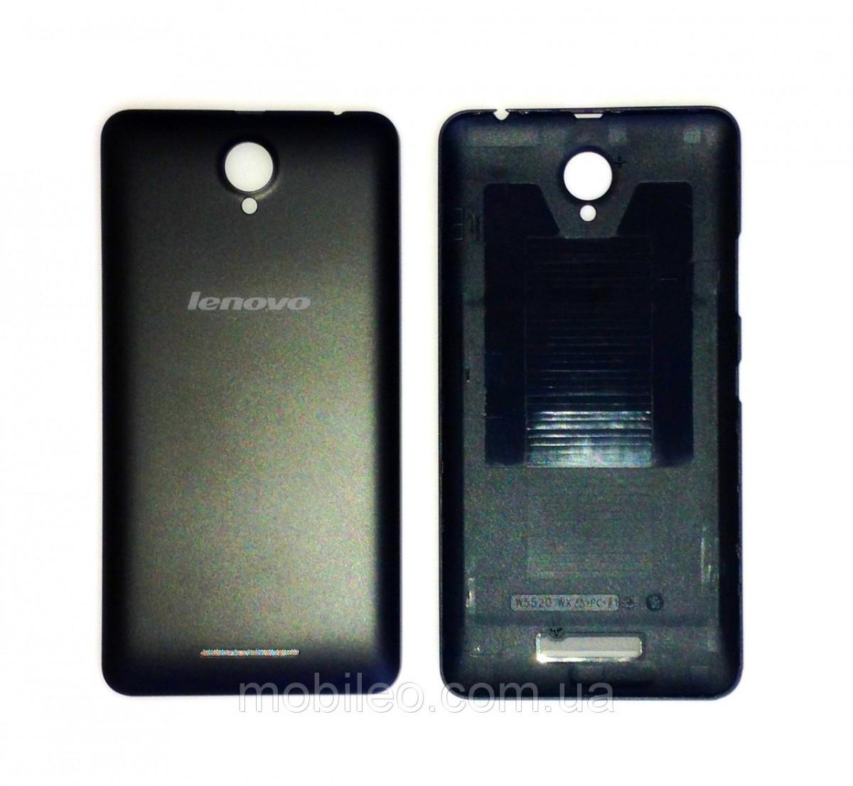 Задняя крышка Lenovo A5000 чёрная orig