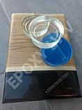 Епоксидна смола для пошарових заливок+затверджувач (4,5 кг)/эпоксидная смола, фото 4