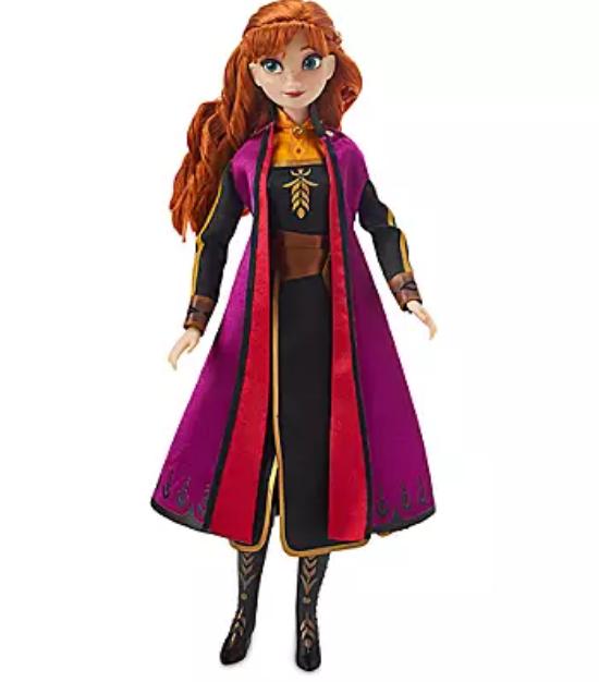 Кукла Анна Дисней поющая Anna Singing Doll