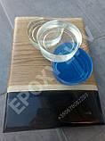 Епоксидна смола для пошарових заливок+затверджувач (7,5 кг)/эпоксидная смола, фото 4