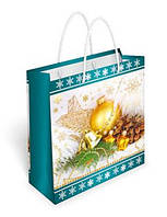 """Пакет подарочный 16,5 х 17 см.""""Новогодние аксессуары"""" 35.086"""
