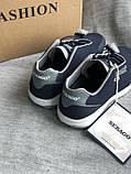 Синие спортивные кроссовки бренда sebago, фото 3