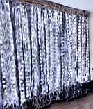 Гирлянда штора роса 3 на 2 5 белый тёплый ,холодный белый ,синий ,мульти, фото 3