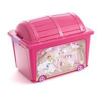 Ящик для игрушек Toy Box Style розовый