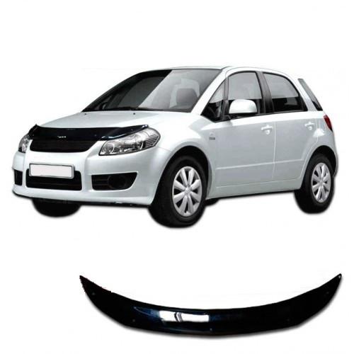 Дефлектор капота  Fiat Sedici с 2005, Мухобойка Fiat Sedici