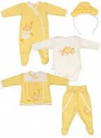 Комплект для новорожденного  в коробке (5 предметов)