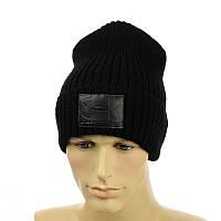 """Чоловіча молодіжна шапка """"Uner Armour"""" чорний"""