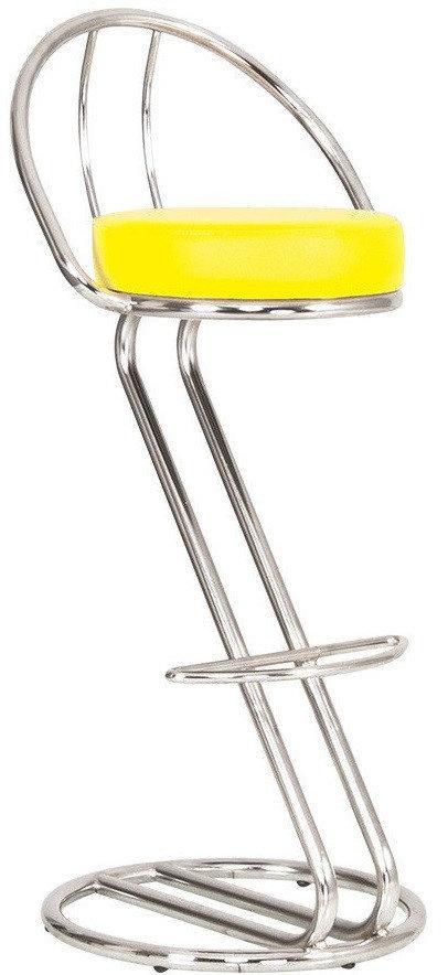 Стілець для барної стійки ZETA plus hoker chrome