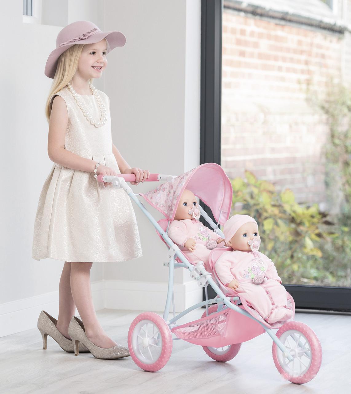 Коляска прогулочная для двух кукол Zapf Baby Annabel Тандем 1423481