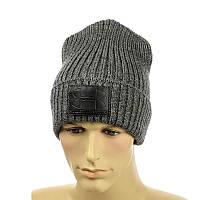 """Чоловіча молодіжна шапка """"Uner Armour"""" сірий"""