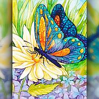 Набор алмазная вышивка Бабочка - 30х40 см