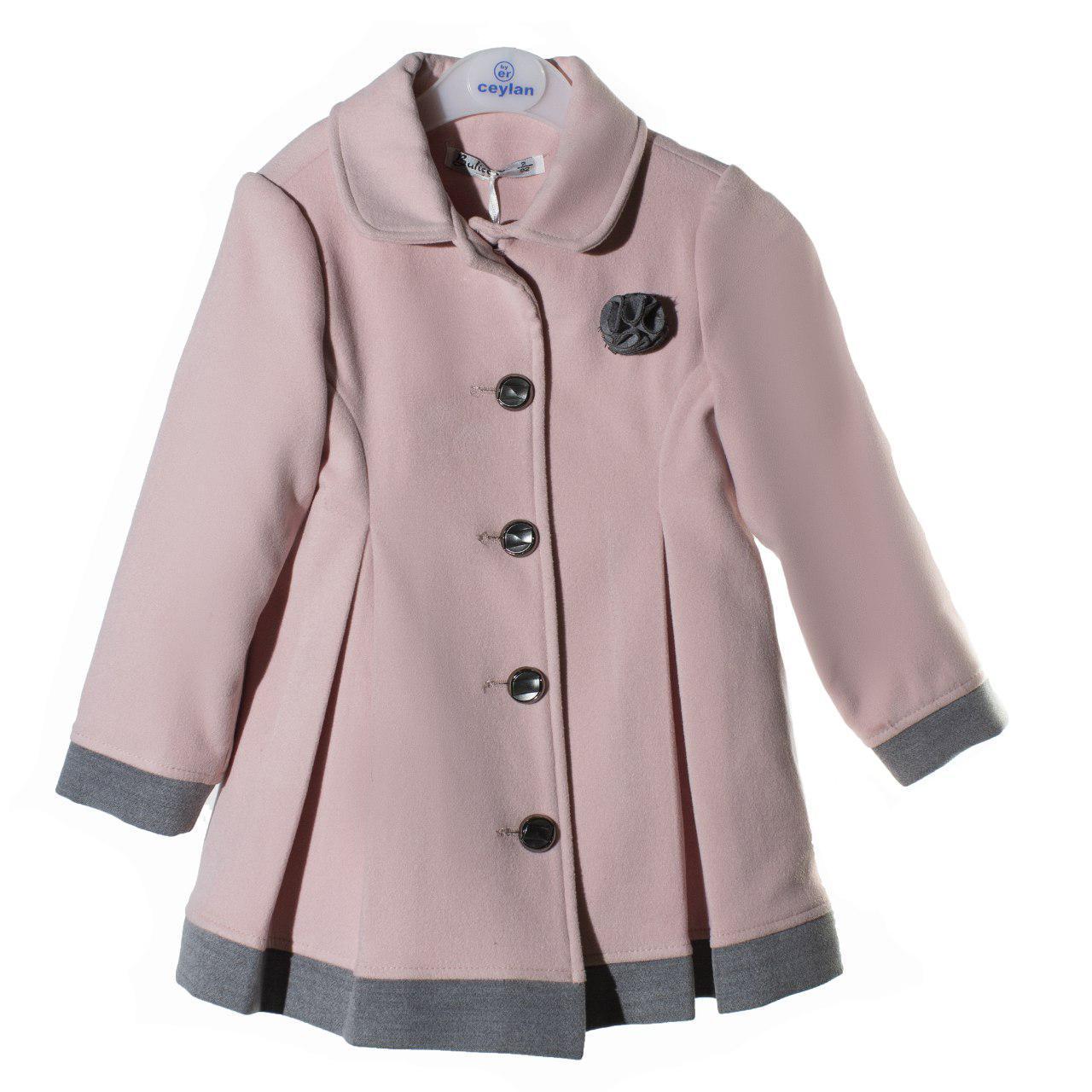 Демисезонное пальто для девочки, осень/весна, размеры 3 года, 5 лет