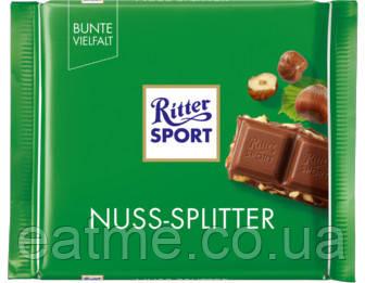 Ritter Sport Молочный шоколад с дроблённым фундуком