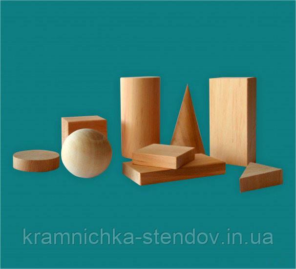 Набор моделей геометрических тел и фигур