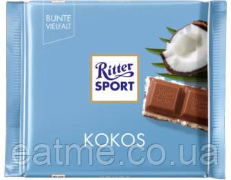 Ritter Sport Молочный шоколад с кокосовой начинкой