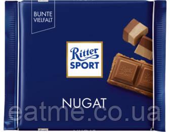 Ritter Sport Молочный шоколад шоколадно-ореховой начинкой