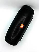 Портативная колонка JBL (High Copy) Charge 4 (Bluetooth, FM, USB, 2 динам, Soft touch) черная
