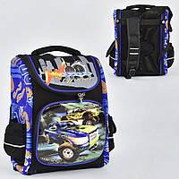 Рюкзак школьный N 00133, 1 отделение, 3 кармана, спинка ортопедическая, 3D принт