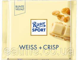 Ritter Sport Белый шоколад с кукурузными хлопьями