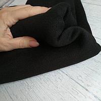 Ткань ангора с люрекс (черная №10) королевская двусторонняя