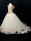 Длинное платье со шлейфом Элизабет на 4-5, 6-7 лет, фото 8