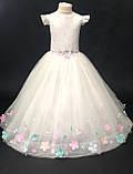 Длинное платье со шлейфом Элизабет на 4-5, 6-7 лет, фото 9
