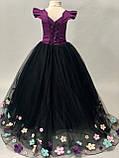 Длинное платье со шлейфом Элизабет на 4-5, 6-7 лет, фото 10