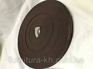 Тесьма для брюк в рулоне 50 метро цвет коричневый