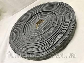 Тесьма для брюк в рулоне 50 метро цвет  св-серый