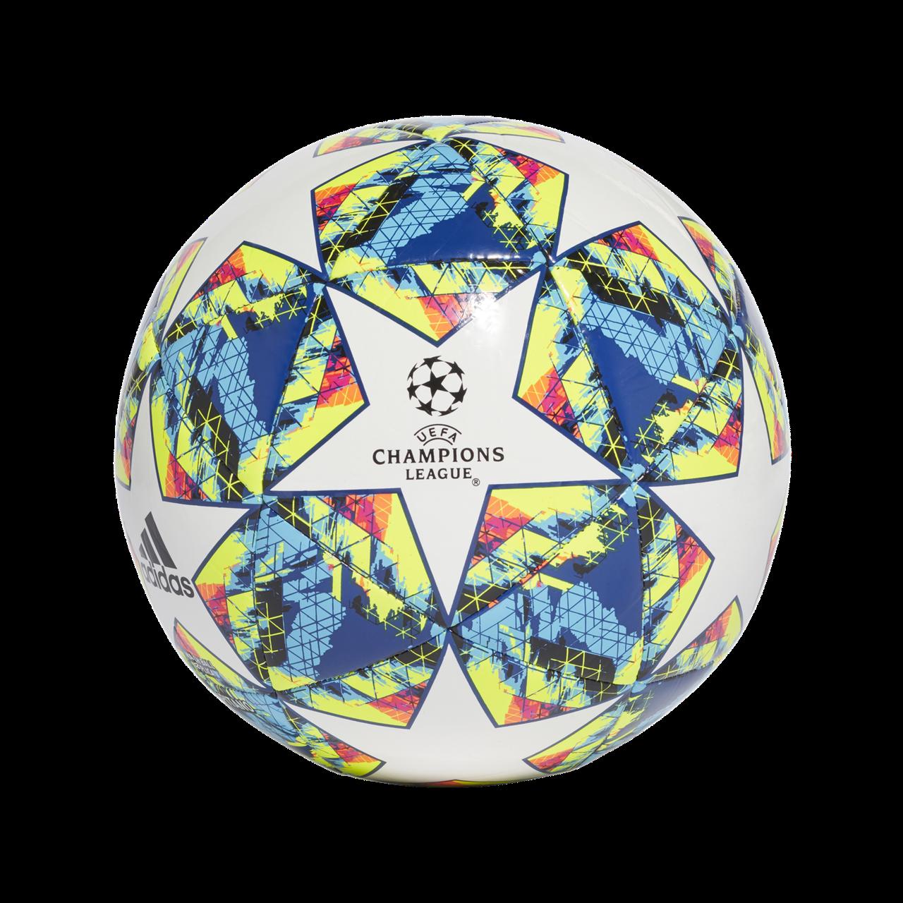 Мяч футбольный Adidas Finale 19 Capitano №4 DY2553 Белый