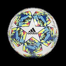 Мяч футбольный Adidas Finale 19 Capitano №4 DY2553 Белый, фото 2