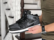 Модные молодёжные зимние кроссовки с мехом с 41 по 46 размер, фото 2