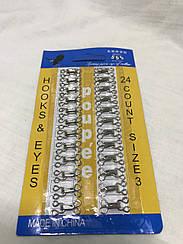 Крючки Для одежды (24 шт в упаковке) белые №2